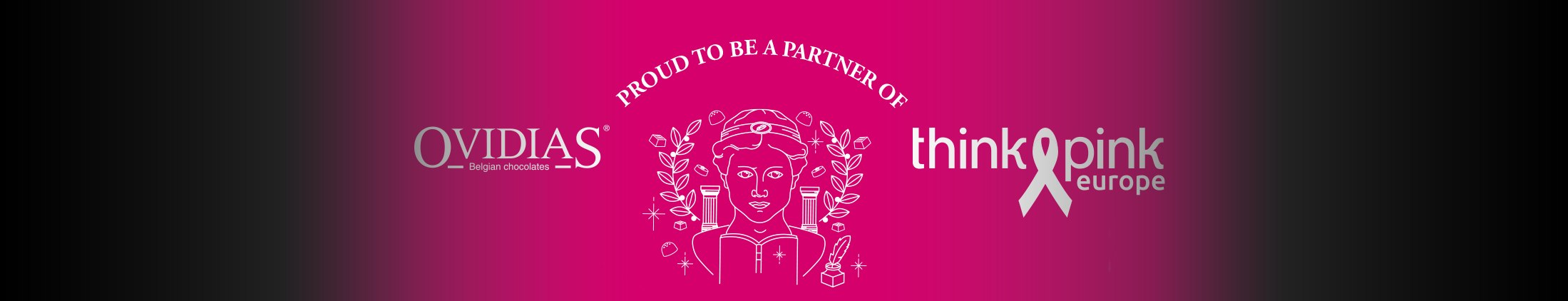 Ovidias is a proud partner of Think Pink Europe