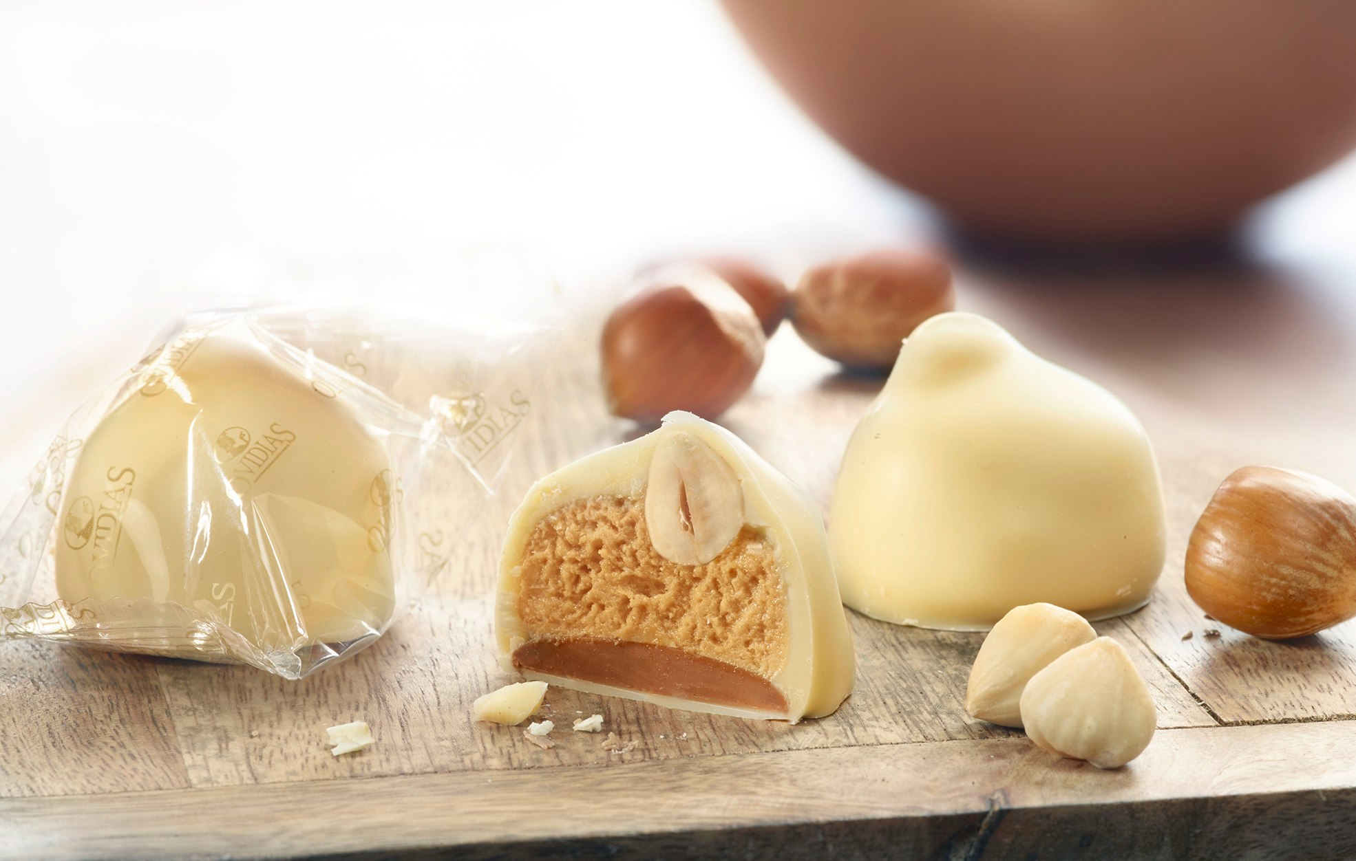 Manon white chocolate with haselnut