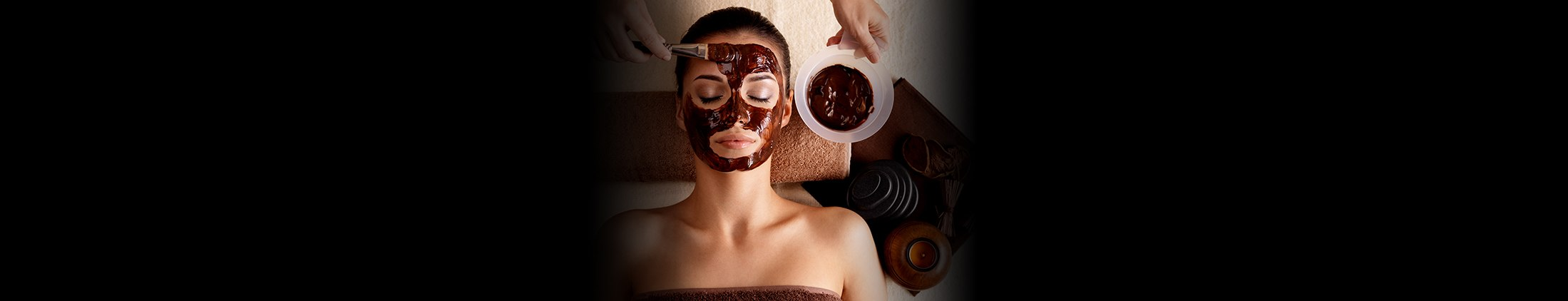 Chocolate and beauty go hand in hand
