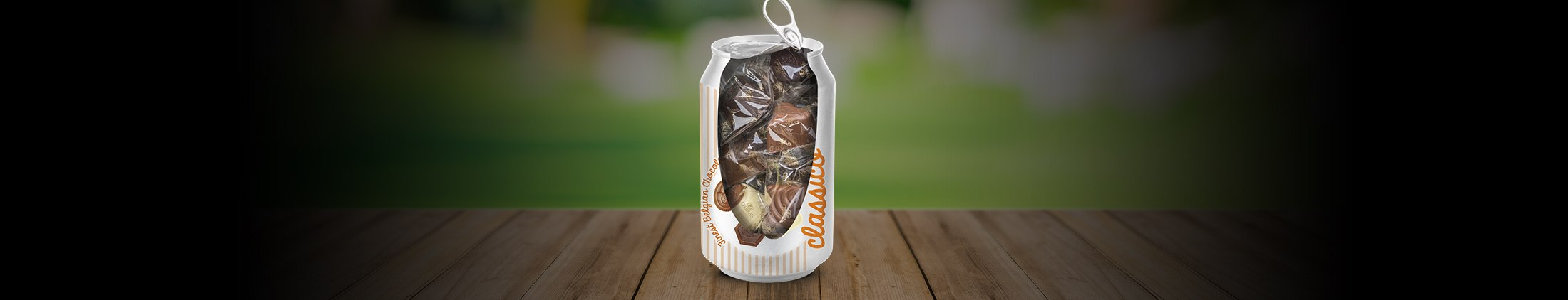 5 advantages of Belgian chocolates in a can