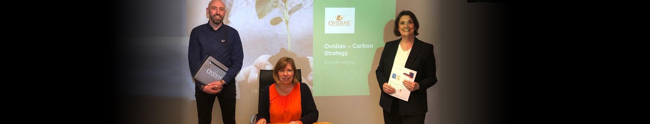 Ovidias joins ambitious CO2 reduction plan