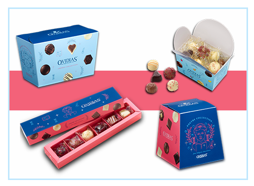 Delight your customers and colleagues with our chocolates.