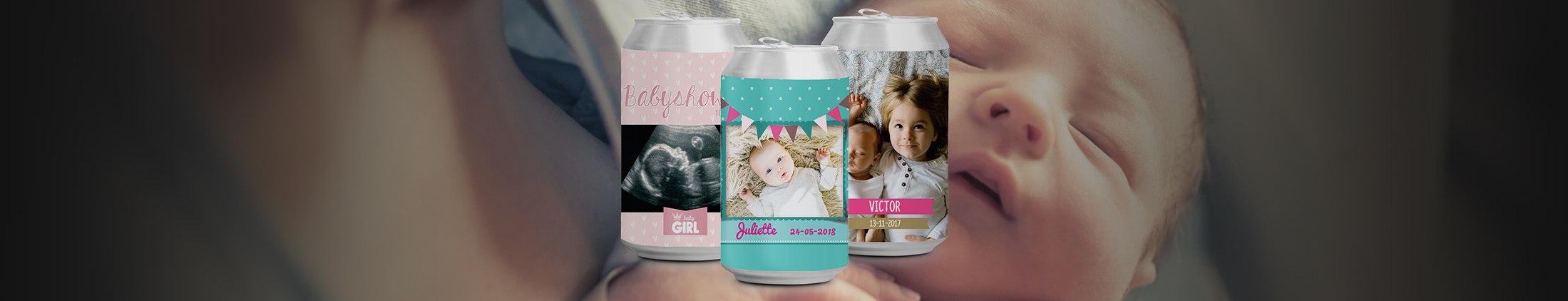 The sweetest baby shower and newborn favours