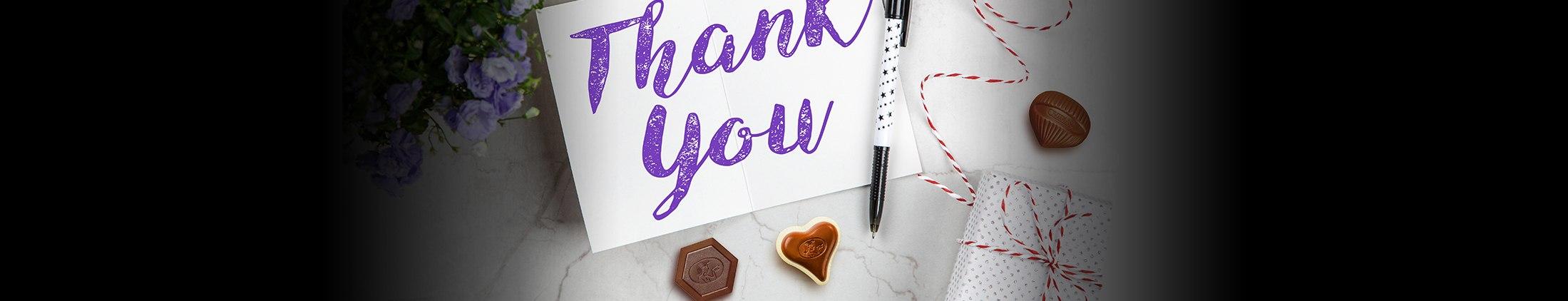 Chocolade bedankjes voor elke gelegenheid