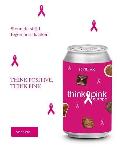 Ovidias is trotse partner van Think Pink Europe