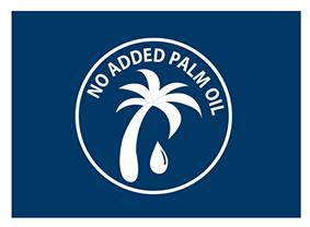 Geen gebruik van palmolie
