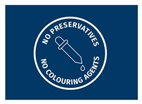 Geen gebruik van conserveermiddelen