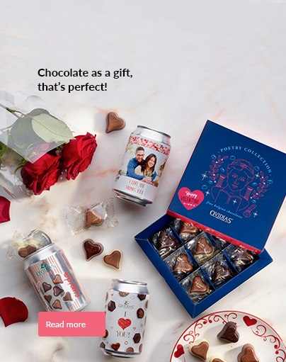 Chocolate as a gift, that's perfect!