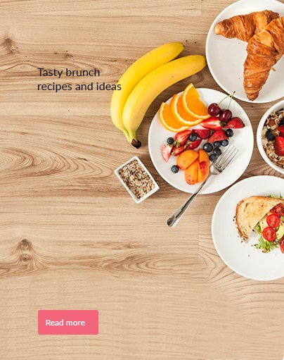 Tasty brunch recipes and ideas