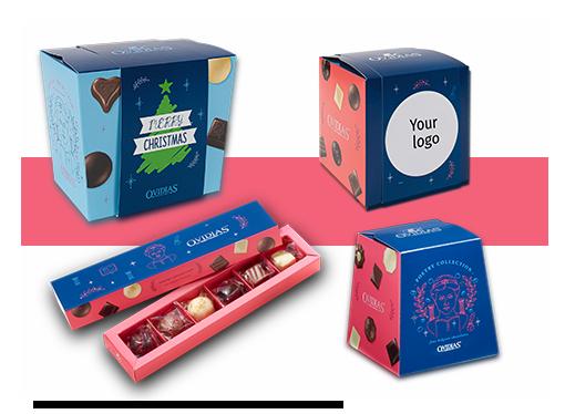 Faites plaisir à vos clients et collaborateurs avec nos chocolats