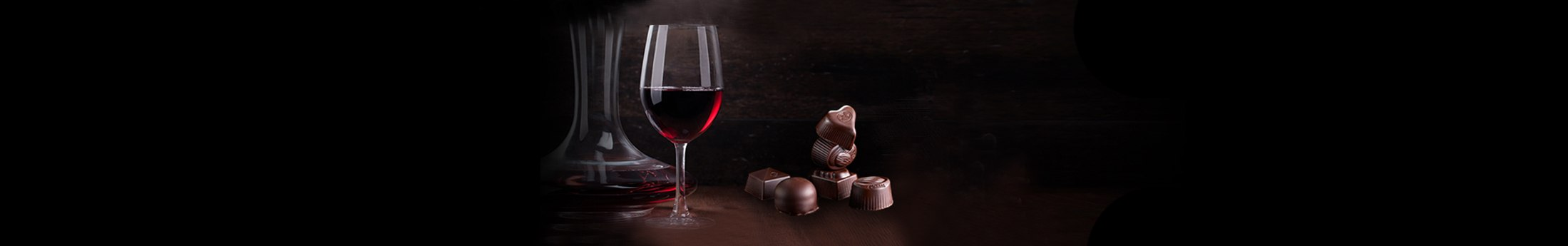 That's why you have to combine red wine and chocolate