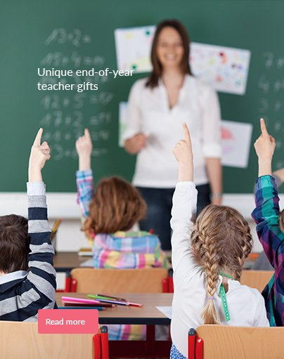 Unique end-of-year teacher gifts