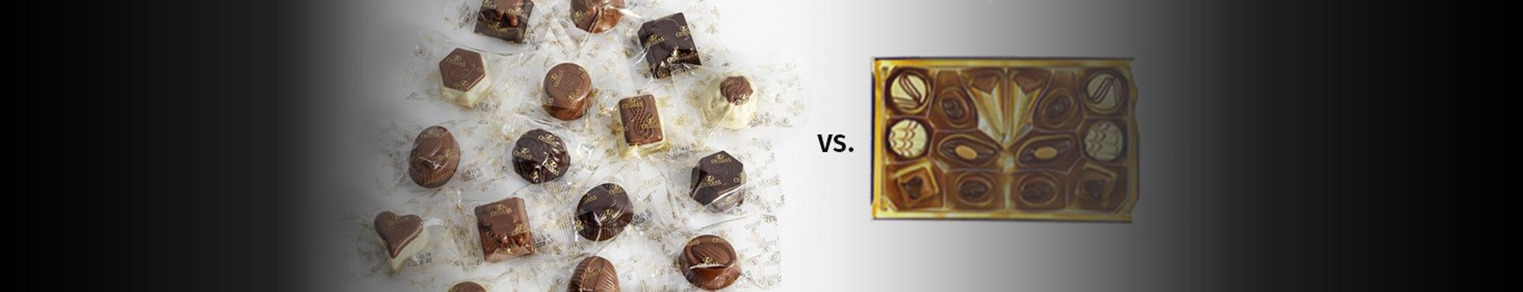 Why are Ovidias chocolates individually wrapped?
