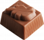 Chocolade Blaadje vanille